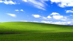 WindowsXPの壁紙