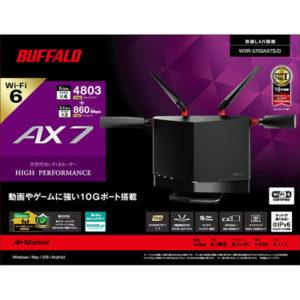WXR-5700AX7Sの箱:正面